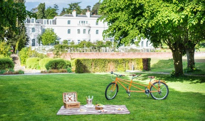 Flowers & Fizz: Deluxe Champagne Picnic For Two At Coworth Park