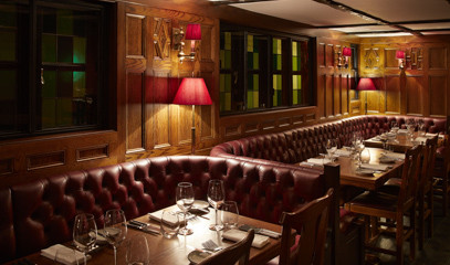 Bluming Amazing: Four-Course Lunch For Two At Michelin-Starred The Hind's Head