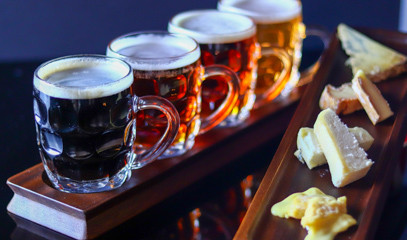 Barley & Riseley: Beer & Cheese Pairing For Two At The Terrace Bar At The Chesterfield Mayfair
