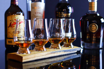Cuba to Caracas: Rum Tasting For Two At The Terrace Bar At The Chesterfield Mayfair