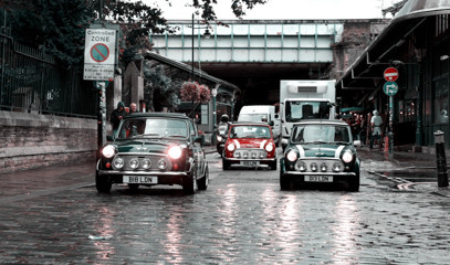 Sixties Style: Explore London By Night in a Classic Mini Cooper for Two