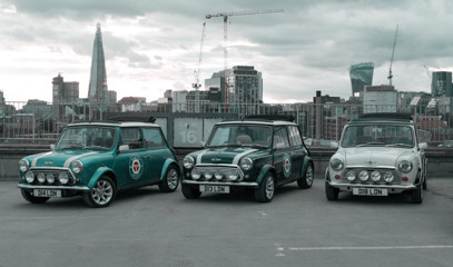 Cooper Classics: Explore Landmarks Of London For Two in a Classic Mini Cooper