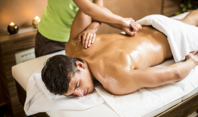 Gentleman's MOT:  Back, Neck & Shoulder Massage and Facial For One At The Spa At Brown's