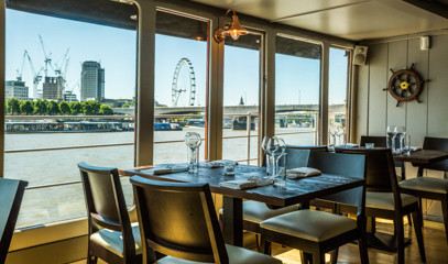 Smooth Sailing: Lunch Or Dinner For Two At The Yacht London