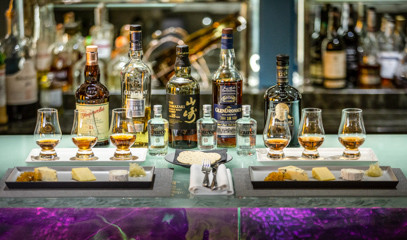 Dare To Be Distinguished: Prestige Whisky Tasting with Cheese Pairing For Two At The Capital Bar