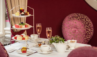 Brut Force: Champagne Afternoon Tea For Two At The Capital Hotel