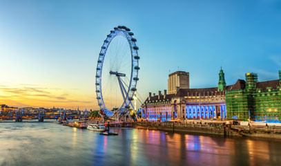 Sky High: London Eye Champagne Flight & Michelin Star Lunch for up to Eight People
