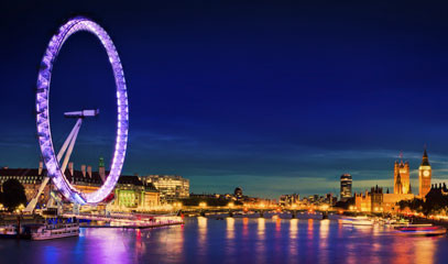 Among the Stars: London Eye Private Capsule and Two Michelin Star Dinner for up to 18 People