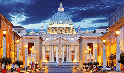 5-Star Rome Break for Two with Vatican Night Tour & Michelin Star Meal