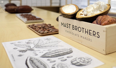 The Golden Ticket: Private Group Chocolate Factory Tour at MAST Brothers London
