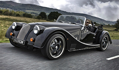 British Classics: Morgan Driving Break For Two In Rural South-Western England