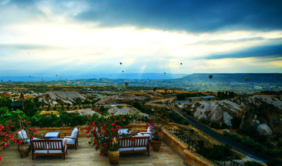 Introducing Cappadocia:  Museum Hotel Stay and Hot Air Balloon Flight for Two