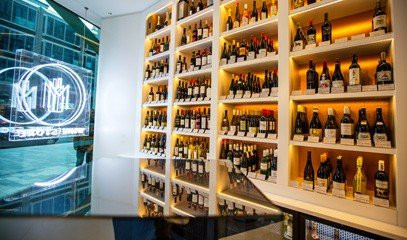 Around the World: Premium Enomatic Wine Tasting with Nibbles for Two at M Victoria