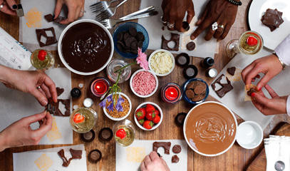 Cheers to Chocolate: Luxury Chocolate Making Workshop for Two at MyChocolate