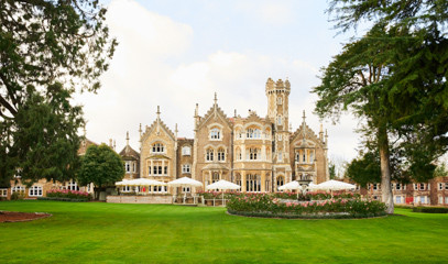 Royal Tea By The Thames: Oakley Court Afternoon Tea for Two with Champagne