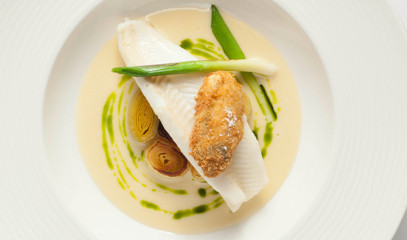 Capital Seafood: Michelin-Starred Seafood Dinner for Two at Outlaw's at The Capital