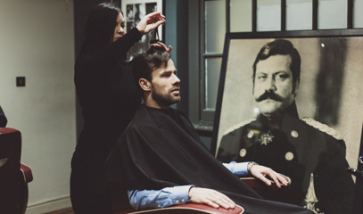 A Gentleman Never Tells: Deluxe Shave, Haircut, Head Massage And A Drink For One At Pankhurst London