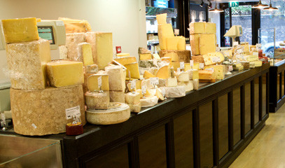 Beer, Beer and Morbier: Private After-Hours Cheese and Beer Tasting for Up to 8 at Paxton & Whitfield
