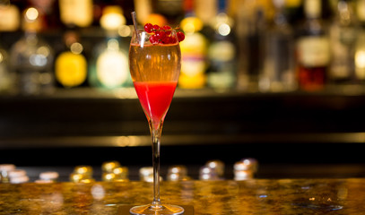 Bubbles at the Bar: Premium Champagne Tasting with Bespoke Canapés for Two at Polo Bar