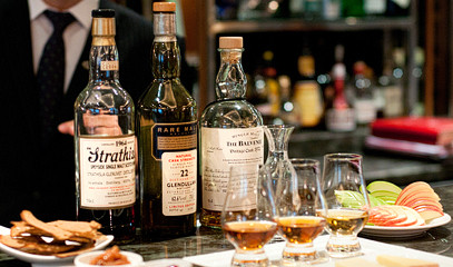 Old & Rare: Private Whisky Tasting for Two at The Capital Hotel