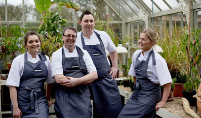 Aspiring Chefs: Private Group Tuition at The Raymond Blanc Cookery School For Three People