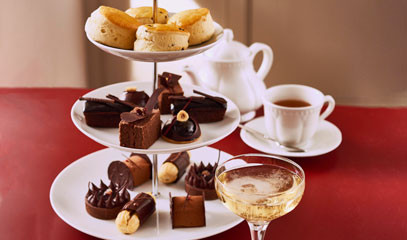 Chocolate Fantasies: Chocolate Afternoon Tea for Two at R Chocolate London