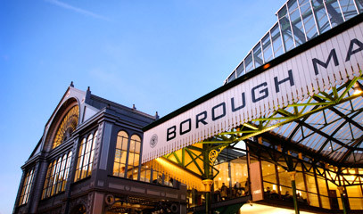 Farm to Table: Expert-Guided Private Borough Market Tour and Bespoke Lunch at Roast for up to 4 People