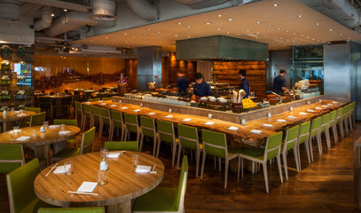 Robata Grill Masters: Japanese Tasting Menu with Ultra-Premium Wine Pairing for Two at Roka