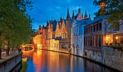 Romantic Bruges Break for Two with Michelin Star Dining & Horse-Drawn Carriage