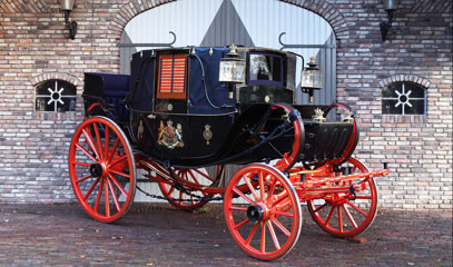 All the Queen's Horses: Buckingham Palace Royal Mews Tour and Afternoon Tea for up to 30 People