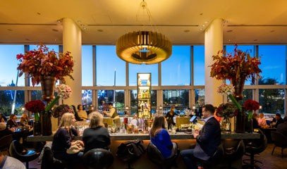 Wine with a View: Wine Tasting Flight with Bar Snacks for Two at Skylon