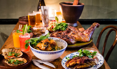 Smoke and Spice: Private Group Thai Barbecue Masterclass at Smoking Goat