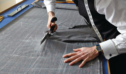 Savile Row Style: Create a Bespoke Two-Piece Suit with Stowers London