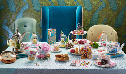 Down the Rabbit Hole: Alice in Wonderland Afternoon Tea for Two at Taj 51 Buckingham Gate