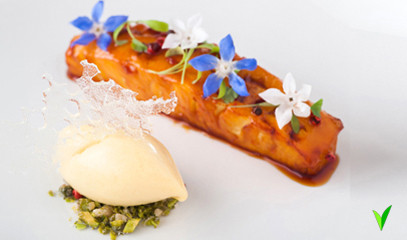 Unforgettable Devon: Ten Course Michelin Tasting Menu for Two at The Elephant Restaurant