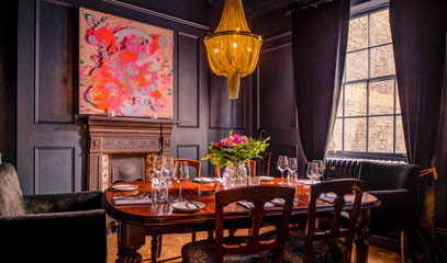 Scandinavian Hospitality: Private Group Dining at The Harcourt for up to ten people