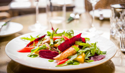 Välkomna!: Three-Course Scandinavian lunch or dinner for Two at The Harcourt