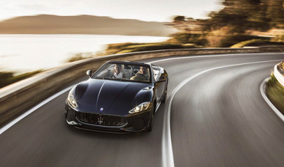 The Italian Job: Drive Italy's Amalfi Coast for Two by Maserati GranCabrio