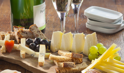 France's Finest: Cheese Tasting with Premium Vintage Champagne for Two at Champagne + Fromage