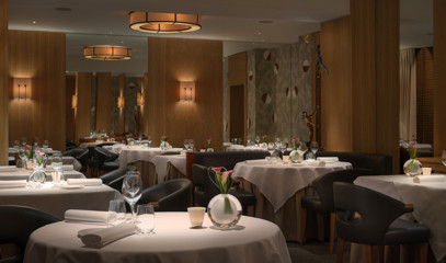 Michelin Star on the Harbourside: Tasting Menu for Two at Restaurant Martin Wishart