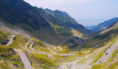 Race the Legend: Drive the Transfăgărășan Highway for Two People