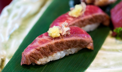New Japanese Cuisine: Nine-Course Tasting Menu for Two at Tsukiji Sushi