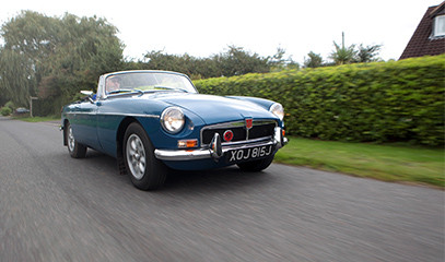 Made For Two: Classic Cars Full-Day Driving Trail For Two With Great Escape Cars