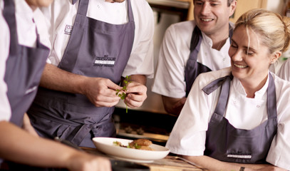 A Taste of Michelin: Weekend Half-Day Cookery Course For One At The Raymond Blanc Cookery School