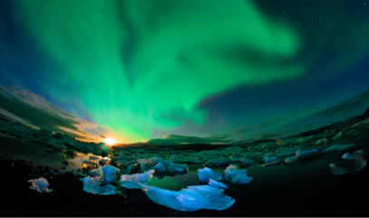 Land of Fire and Ice: Blue Lagoon Iceland Getaway With Northern Lights Tour For Two