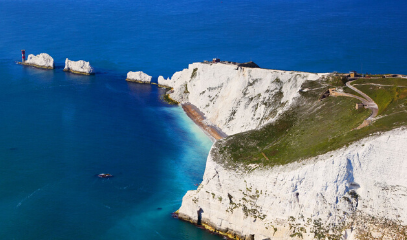 Finding the needle in a haystack: Private Yacht Charter to The Needles in The Isle Of Wight for Four People
