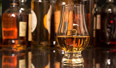 RARE AND UNCANNY: Premium Whiskey Tasting for Two at Whiski Rooms