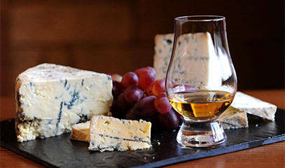 THE SCOTSMAN'S CHOICE: Whisky and Cheese Tasting for Two at Whiski Rooms Edinburgh